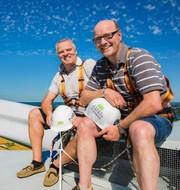 Windpioniere Klaus Soltau und Jens Heidorn