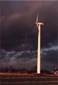 Windenergieanlage in Hamburg-Ochsenwerder