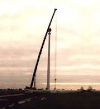 "Windenergieanlagen ""Janina"" in Hamburg-Neuengamme"