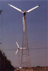 Windenergieanlage in Hamburg-Neuenfelde