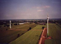 "Hamburg-Neuengamme: Windenergieanlagen ""Carl"", ""Maja"" und ""Clara"""