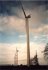 """Windenergieanlagen """"Luise"""" und """"Daniela"""" in Ochsenwerder"""